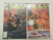 TERMINATOR: ALL MY FUTURE'S PAST #1-2 COMPLETE SET ~ VF-NM 1990 NOW COMICS
