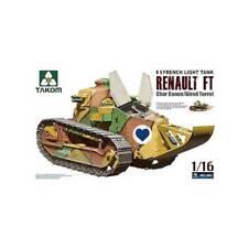 Takom Tao1001 1/16 Renault Ft-17 W/Girod Turret