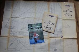 """Schiffsmodellbauplan """"Gazelle de Sables"""" 1:15 von Modele Reduit Bateau"""