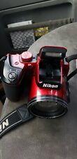 Red Nikon B500 Camera