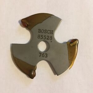 """Bosch 85528M 3/32"""" Carbide Tipped 3-Wing Slotting Cutter"""