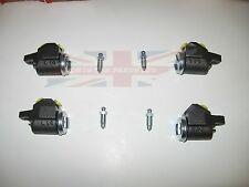 Set of Four New Front Wheel Cylinders for MG Midget Austin Healey Sprite Bugeye