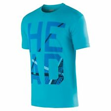 Head Mens Carlo T-Shirt Turquoise Tennis Shirt Size XL
