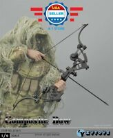 ZY TOYS 1/6 Composite Bow Arrows set Soldier Military Weapon for 12'' figure