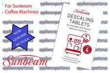 Sunbeam Espresso Machine Descaling Tablet EM0010 PK4 - experienced Sunbeam agent