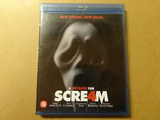 BLU-RAY / SCREAM 4 (EMMA ROBERTS, NEVE CAMPBELL)
