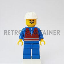 LEGO Minifigures - 1x trn054 - Train Worker - Town Omino Minifig Set 4552 4559