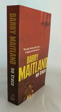 No Trace by Barry Maitland (Paperback, 2007), SIGNED