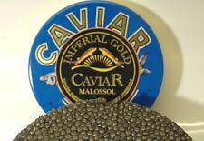 125g Imperial Gold Kaviar, 125g Caviar aus Aquakultur frisch + 1 Perlmutt-Löffel
