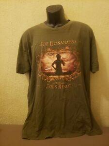 JOE BONAMASSA 'The Ballad Of John Henry' MENS T-SHIRT - SIZE XXL - VGC - Blues