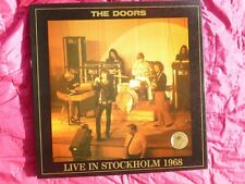 THE DOORS STOCKHOLM 1968   TSP 004-3 Swinging Pig EXC-