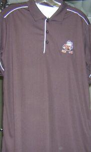 Cleveland Browns Brownie Elf Antiqua Salute Polo XL