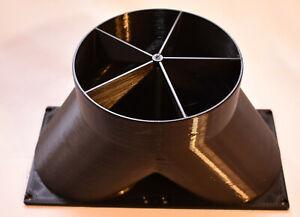 """Dayun Z1 Pro 140mm 6"""" Double Fan Duct Shroud"""