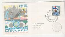 NETHERLANDS ANTILLES,1960 Labor Day 20c. First Day cover