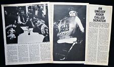 SCRATCH / LINDA BISHOP HELLS ANGEL GIPSY WITCHES CHAPTER 3pp PHOTO ARTICLE 1970