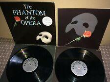 Phantom of the Opera LP. Polydor PODV 9. 1987. VG / VG+.