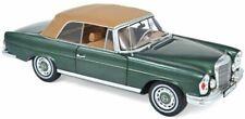 Voitures miniatures verts Mercedes