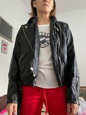Free People Vegan Leather Jacket 4  With Hood XS