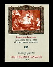 "FRANCE CARNET CROIX ROUGE 2011a "" FRAGONARD 1962 2eme TIRAGE "" NEUF LUXE  P523A"