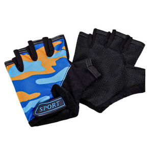 Cycling Equipment Cycling Gloves Sport Mittens Child Gloves Half Finger Gloves