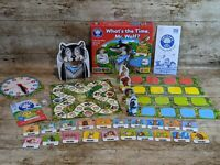 Orchard Toys boxed game - What's the time Mr Wolf