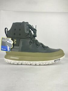 Under Armour UA Fat Tire Govie 1299193-300 Hiking Boots Green Men's size 14