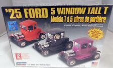 '25 Ford 5 Window Tall T Multiple Model Variations 1/24 Model Kit Lindberg