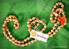 SHWETA Chandana WHITE CHANDAN FRAGRANT SANDALWOOD Mala 108 + 1 Beads Hindu Japa