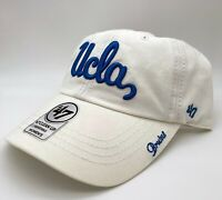 UCLA Bruins '47 White Women's Miata Clean Up Strap Adjustable Hat Dad Cap