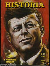 xv 01 Historia  -  Aprile 1964 . Numero 77- Kennedy Hitler Gorki