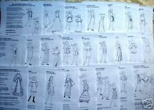 25 Original NG Creations Patterns fit Fashion Dolls like Barbie
