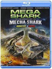 Used,very good BLU-RAY Mega Shark Vs Mecha Shark [Blu-ray]~Emile Edwin Smith,Deb