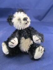 Miniature Jointed Panda Bear- Perfect for a Collector Hard To Find Size Vintage