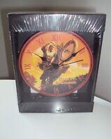 2006 Harley Davidson Hill Climber Clock & Standing Tray by Bulova - NEW & SEALED