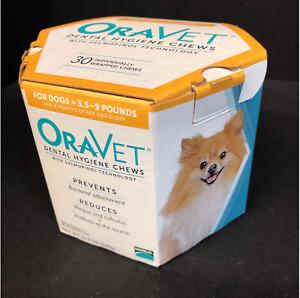 Oravet  Dental Hygiene Chews Small Dogs 3.5-9 lbs, 49 Chews Expired 2018 READ