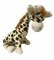 Teddy & Friends Brown Patch Giraffe Sewn Eyes Soft Plush Toy 38cm