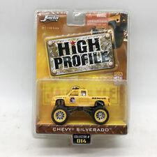 1/64 Jada HIGH PROFILE CHEVY SILVERADO MENTAL #014 CAR MODEL COLLECTION