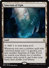SANCTUM OF UGIN Battle for Zendikar MTG Land Rare