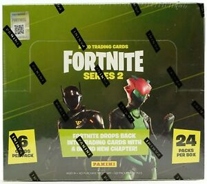 Fortnite Series 2 Hobby Box (Panini 2020) A MUST FOR COLLECTORS. RARE. WOW