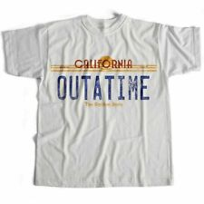 Back To The Future Outatime Chinese Japanese Sci Fi Film Movie Cult T Shirt