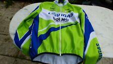 veste de vélo vintage Liquigas Dolmo hiver T 5 Nalini