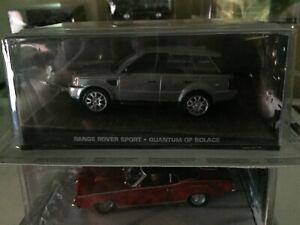 James Bond Die Cast Car Collection 79 Range Rover Sport Quantun of Solace