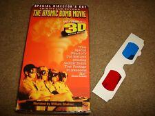 Trinity and Beyond: The Atomic Bomb Movie (VHS, 1997, 2-Tape Set, Bonus 3D...