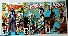 THREE prized X-Men issues - 200, 210, & 222. Wolverine and Mutant mayhem rules.