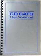 Audio Development CD CATS ST2 User's Manual
