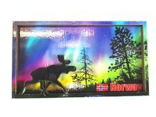 Schweden Nordlichter Foto Magnet Sweden Souvenir Fridge Neu