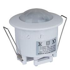 360 Degree Recessed PIR Ceiling Security Motion Sensor Detector Light Switch
