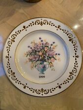 Lenox Connecticut the Fifth Colony Colonial Bouquet Limited Edition Plate