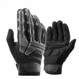 Cycling Gloves SBR Pad Shockproof GEL Breathable Full Finger MTB Bicycle Men New