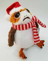 Disney Store Autentic Porg Holiday Cheer Medium Soft Toy, Star Wars